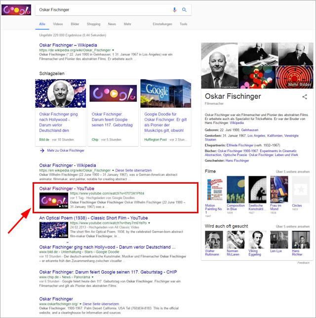 Google-Doodle-Serps für
