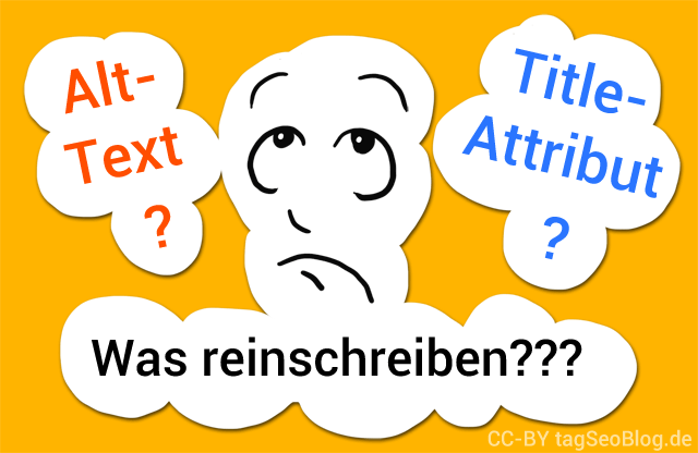 Alt-Text und Title-Attribut - was hineinschreiben?