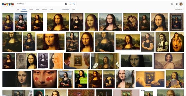 Google Bildersuche nach