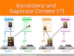 Konstistenz bei Duplicate Content (Bilder)
