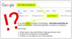 Google Site-Abfrage ...
