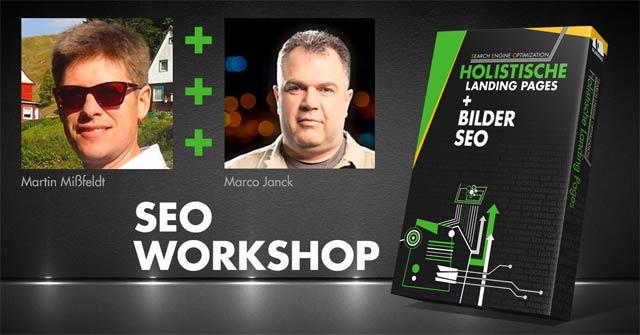 Seo-Workshop mit Janck/Mißfeldt