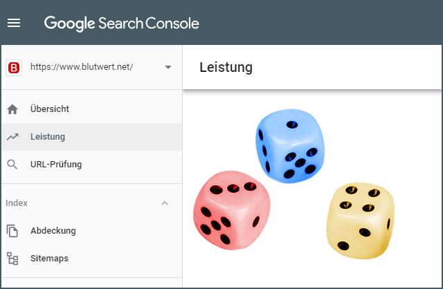 Google SearchConsole (Leistungsdaten)