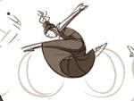 Martha Graham doodle-dance