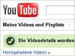 youTube-default-Einstellungen geändert