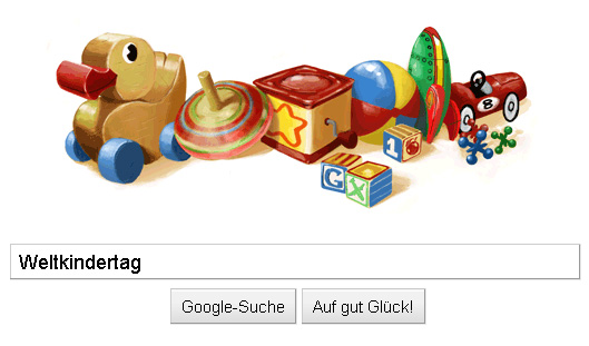 internationaler kindertag google schaltet spielsachen doodle tagseoblog seo blog. Black Bedroom Furniture Sets. Home Design Ideas