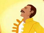 Freddie Mercury Doodle (Video-Still)