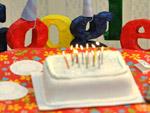 Geburtstags-Doodle für Google