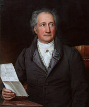 Johann Wolfgang von Goethe (Portrait von K. J. Stieler)