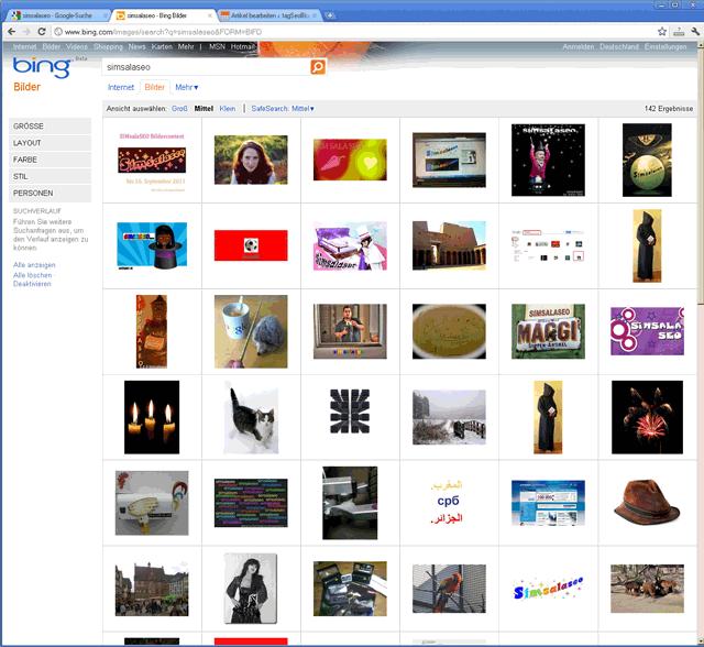 Simsalaseo - Bing-Zielfoto vom 16.09.2011 um 14:02 (Klick zum Vergrößern)