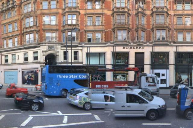 London: irgendwie ein großer auto-Schrotthaufen