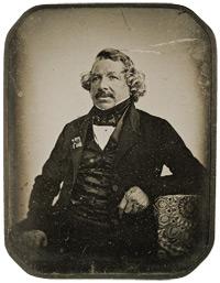 Daguerreotypie: Louis Babtiste Daguerre