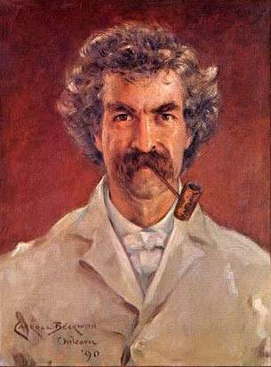 Mark Twain (Portrait by Beckwith)