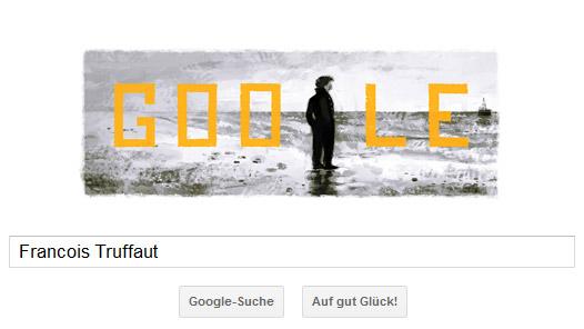 Fancois Truffaut Google Doodle