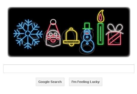Frohe Weihnachten - Google Doodle 2011