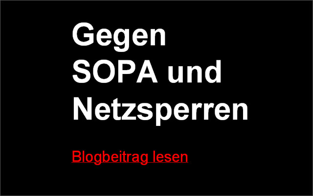 Stop Sopa bei Rivva