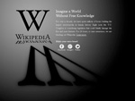 Stop Sopa - Blackout Wikipedia