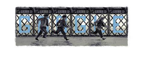 Google Doodle nach dem Truffaut Klassiker Jules und Jim