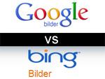 Bildersuche: Google vs. bing