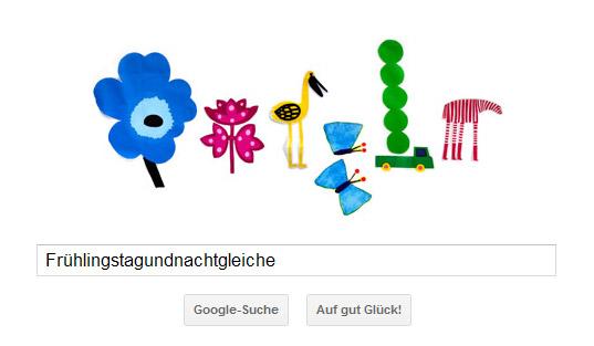 Frühlingstagundnachtgleiche Google Doodle