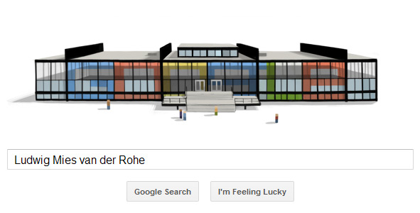 Ludwig Mies van der Rohe Doodle