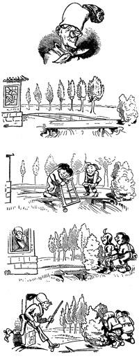 google ehrt wilhelm busch mit max und moritz doodle. Black Bedroom Furniture Sets. Home Design Ideas