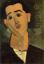 Juan Gris, gemalt von Amadeo Modigliani (1915)